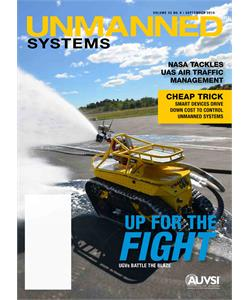 UNMANNED SYSTEMS - Volume 33 NO. 9 | SEPTEMBER 2015